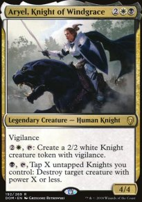 Aryel, Knight of Windgrace - Dominaria