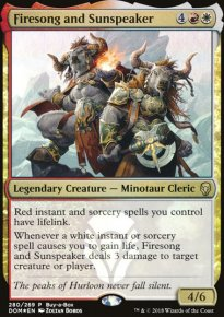 Firesong and Sunspeaker - Dominaria