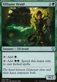 Elfhame Druid - Dominaria