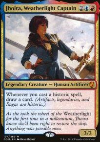 Jhoira, Weatherlight Captain - Dominaria