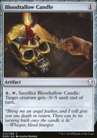 Bloodtallow Candle - Dominaria