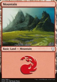 Mountain 4 - Dominaria