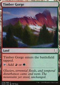 Timber Gorge - Dominaria