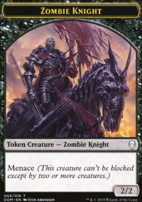 Zombie Knight - Dominaria