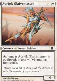 Auriok Glaivemaster - Darksteel