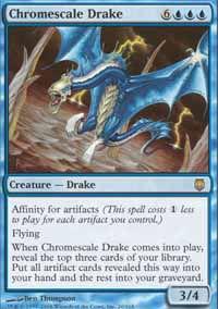 Chromescale Drake - Darksteel