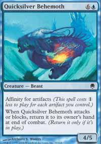 Quicksilver Behemoth - Darksteel