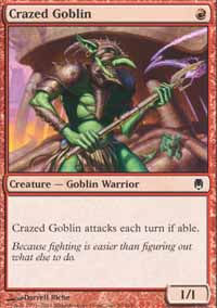 Crazed Goblin - Darksteel