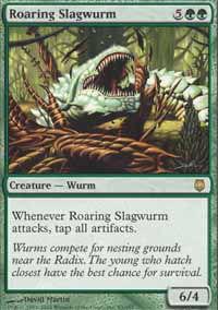 Roaring Slagwurm - Darksteel