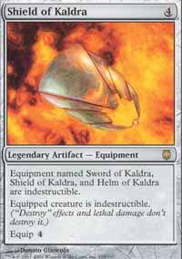 Shield of Kaldra - Darksteel