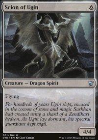 Scion of Ugin - Dragons of Tarkir