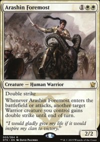 Arashin Foremost - Dragons of Tarkir