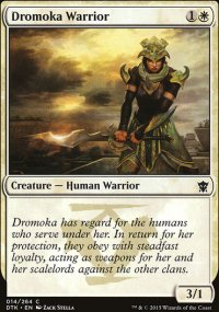 Dromoka Warrior - Dragons of Tarkir