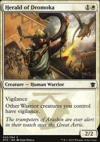 Herald of Dromoka - Dragons of Tarkir