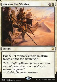Secure the Wastes - Dragons of Tarkir