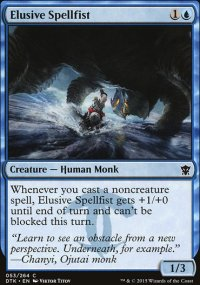 Elusive Spellfist - Dragons of Tarkir