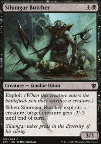 Silumgar Butcher - Dragons of Tarkir