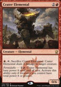 Crater Elemental - Dragons of Tarkir