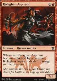 Kolaghan Aspirant - Dragons of Tarkir