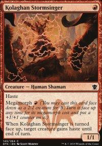 Kolaghan Stormsinger - Dragons of Tarkir