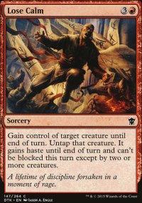 Lose Calm - Dragons of Tarkir