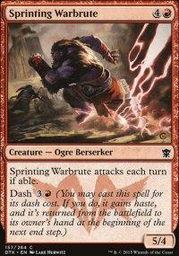Sprinting Warbrute - Dragons of Tarkir