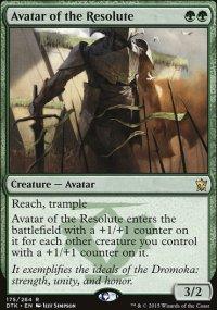 Avatar of the Resolute - Dragons of Tarkir
