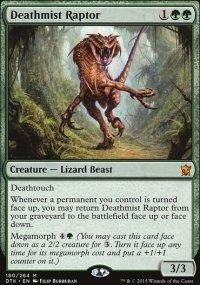 Deathmist Raptor - Dragons of Tarkir