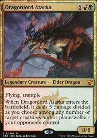 Dragonlord Atarka - Dragons of Tarkir