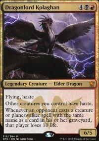 Dragonlord Kolaghan - Dragons of Tarkir