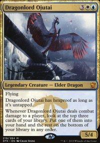 Dragonlord Ojutai - Dragons of Tarkir