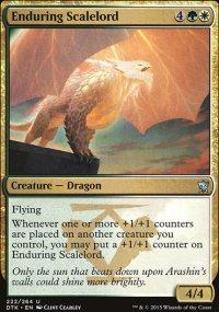 Enduring Scalelord - Dragons of Tarkir