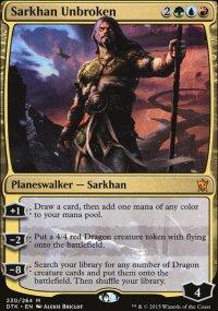 Sarkhan Unbroken - Dragons of Tarkir