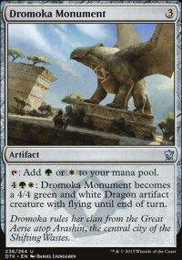 Dromoka Monument - Dragons of Tarkir