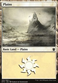 Plains 3 - Dragons of Tarkir
