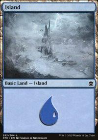 Island 1 - Dragons of Tarkir