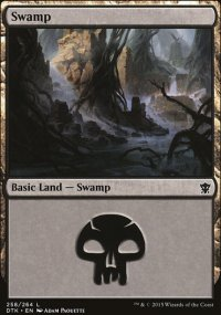 Swamp 3 - Dragons of Tarkir