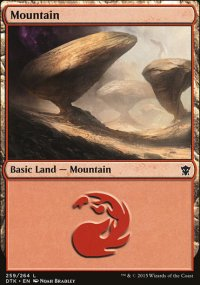 Mountain 1 - Dragons of Tarkir