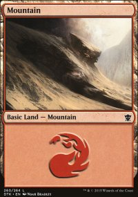 Mountain 2 - Dragons of Tarkir