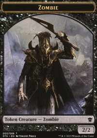 Zombie - Dragons of Tarkir