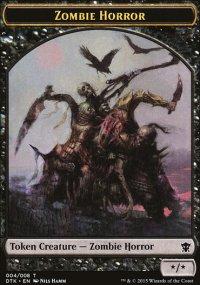 Zombie Horror - Dragons of Tarkir
