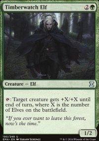 Timberwatch Elf - Eternal Masters