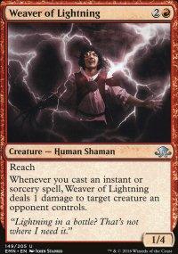 Weaver of Lightning - Eldritch Moon
