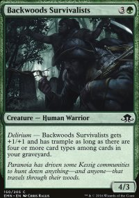 Backwoods Survivalists - Eldritch Moon