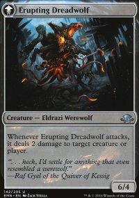Erupting Dreadwolf - Eldritch Moon