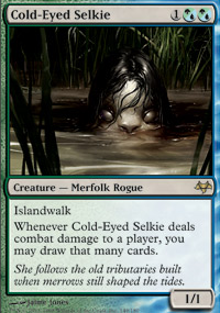 Cold-Eyed Selkie - Eventide