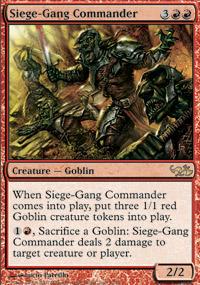 Siege-Gang Commander - Elves vs. Goblins