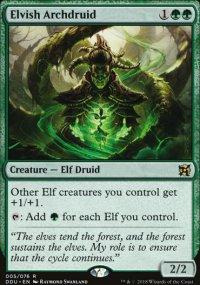Elvish Archdruid - Elves vs. Inventors