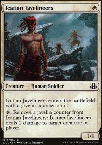 Icatian Javelineers - Elspeth vs. Kiora