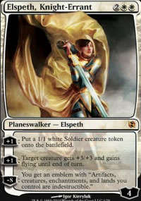 Elspeth, Knight-Errant - Elspeth vs. Tezzeret